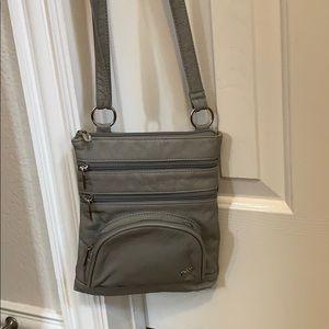 Woman's Purse King Gray Crossbody purse